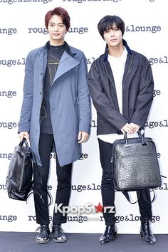 SHINee's Minho and Taemin Attend Rouge and Lounge Ceremony Event - March 7, 2014 [PHOTOS] More: http://www.kpopstarz.com/articles/82697/20140307/shinees-minho-taemin-attend-rouge-lounge-ceremony-event-march-7.htm