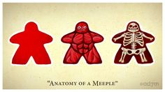 Anatomy of a Meeple