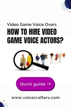 Video game voice-overs have only become popular in the recent history of voice acting, but they already make up a substantial portion of the market. Here's everything you need to know about hiring professional voice actors for your own game