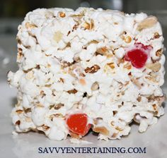 Popcorn Cake Recipe With Gumdrops