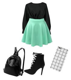 """""""Untitled #65"""" by giuliaabalanuta on Polyvore featuring Boohoo and LE3NO"""