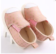 Pink and Gold Loafers