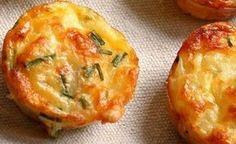 Hierdie is weereens een van daardie uiters praktiese reseppies. Savory Muffins, Savory Snacks, Easy Snacks, Healthy Snacks, Easy Meals, Breakfast Muffins, Breakfast Ideas, Finger Food Appetizers, Finger Foods