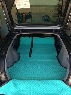 DIY custom pet cargo cover!