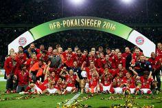 DFB Pokalsieger 2016 ist.......Bayern München!            Das Double ist perfekt <3
