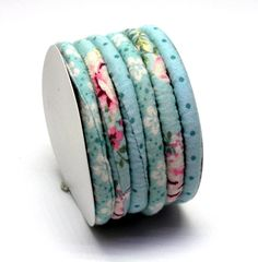by AndreaMacsarJewelry on Etsy Fabric Bracelets, Cord Bracelets, Fabric Jewelry, French Blue, Summer Jewelry, Trending Outfits, Unique Jewelry, Handmade Gifts, Leather