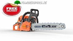 Timberpro with Oregon bar and chain, incl free nationwide delivery.