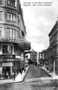 Belgrade Vuka Karadžića, early 20th century