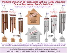 REALTORS® House Personalized Wind Chimes. Perfect Closing Gift!