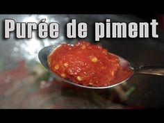 Purée de piment - recette de Maman Cuisine