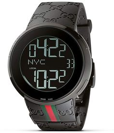 Gucci Unisex I-Gucci Collection Watch. Get the lowest price on Gucci Unisex I-Gucci Collection Watch and other fabulous designer clothing and accessories! Shop Tradesy now Gucci Watches For Men, Luxury Watches For Men, Fashion Watches, Latest Watches, Watches Online, Accessoires Gucci, Mens Digital Watches, Skeleton Watches, Rubber Watches