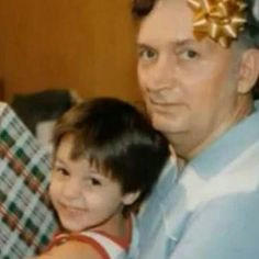 Chris motionless and his grandfather