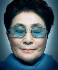 Yoko Ono by Platon Antoniou