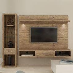 Home Decor: 20 Diy Handmade Simple Pallet Tv Units Tv Unit Design, Tv Wall Design, House Design, Tv Furniture, Pallet Furniture, Rack Tv, Muebles Living, Tv Wall Decor, Living Room Tv
