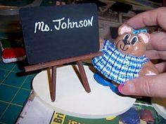 Fun to make personalized teacher gift!