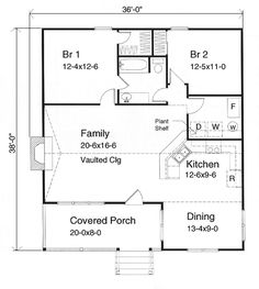 House Plan chp-15947 at COOLhouseplans.com