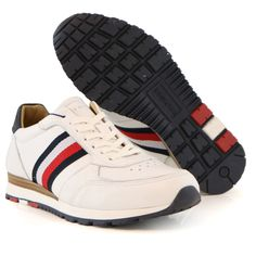 38a1c3bc316 Tommy Hilfiger sneaker white red blue | TOMMY HILFIGER ZOMERCOLLECTIE 2018