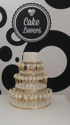 Bolo Casamento Cakepops