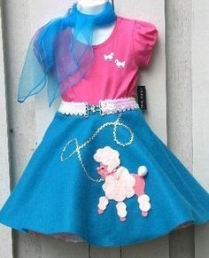 very cute ooc for an eighties theme that everyone adores, i also like the white belt around the waist, it really adds to it Pageant Wear, Pageant Girls, Pageant Dresses, 50s Costume, Baby Halloween Costumes, Dance Outfits, Girl Outfits, Teal And Pink, The Ordinary