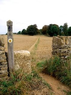 Along the 102-mile long Cotswold Way in England
