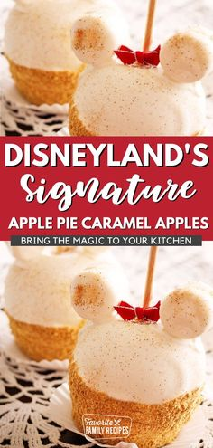 These Apple Pie Caramel Apples are a must have every time we go to Disneyland. My college friend, Nathan, first introduced me to them when we visited Disney recently and they've instantly shot to the top of my Disney food list. Creamy caramel, tart apples, a cinnamon graham cracker crust, the combination is perfection! Plus they're so cute! They're a hit at any birthday party, Halloween bash or just a fun weekend treat.