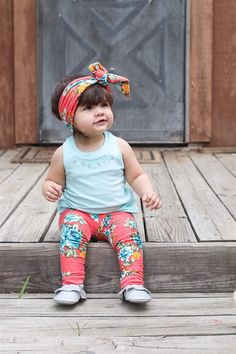 Toddler Leggings Baby Leggings Pants for Girls by ZigZagRags