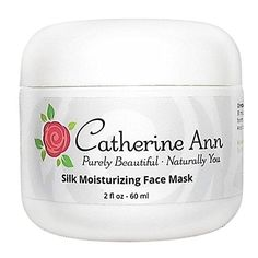 Silk Moisturizing Face Mask For Dry Skin  Hydrating Calming Mask with Hyaluronic Acid Amino Acids and Aloe Vera  72 Organic  Doubles as a Cooling Gel Eye Mask  by Catherine Ann >>> Click on the image for additional details. (Note:Amazon affiliate link)