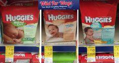 Surprise Register Reward for Huggies Wipes!