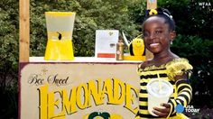 Menina de 11 anos cria marca de limonadas para salvar abelhas
