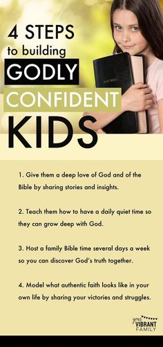 Why should teaching kids to love God be the highest priority for Christian parents? This post explains why teaching children to love God creates godly, confident kids. Discover four practical steps to teach kids how to love God and to build confidence and joy in their lives. ,