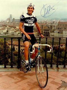 Eduardo Chozas Presentation of team ZOR-Gemeaz Giro d'Italia 1984 Florencia