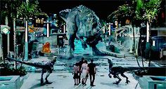 Attack Jurassic World