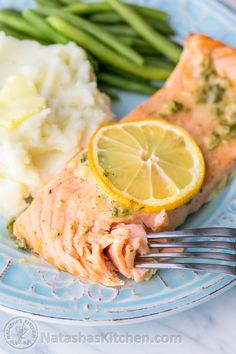 Our Favorite Baked Salmon Recipe - juicy, flaky and super delicious. A 5-Star recipe!!