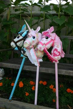 WhimsyWoo Woooie AND Wooonicorn Horn Patterns by WhimsyWooStables