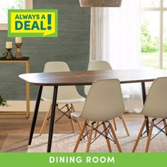 At Cost Plus World Market, you'll find dining must-haves at wallet-friendly prices! Our Always A Deal finds make updating your space a breeze.
