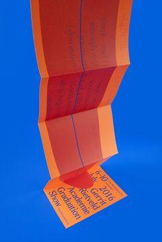 "designeverywhere: ""Gerrit Rietveld Academie Graduation Show 2016 """