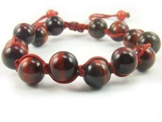 BA9813R Red Tigers Eye Natural Crystal Stretch Bracelet - See more at: http://waggashop.com/wagga-shop-ba9813r-red-tigers-eye-natural-crystal-stretch-bracelet