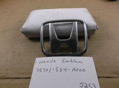 HONDA ACCORD REAR EMBLEM 94-07 Trunk badge H logo 75701-SV4-A000 oem J253 #Honda