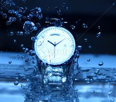 Watch Under Water Drops by Bassem  Adel  - Products & Objects Technology Objects ( #water, logo, stock clip art icon, stock illustration, #royalty free illustrations, #graphic, splash, #watch, pictures, artwork, drawing, line art, drawings, ck, drops, stock clipart icons, #graphics, #shapes geometric patterns , hdr, , #FocusStacking, #object )#photography #profile #portfolio #art #artistic #oriental #original #pics