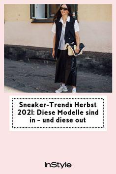 Auf Sneakers wollen wir auch im Herbst nicht verzichten. Welche 4 Modelle 2021 angesagt sind und welche eine Pause machen, erfährst du hier. #instyle #instylegermany #sneaker #modetrend #herbst Jogging, Sneaker Trend, Pause, Outfit, Sneakers, Fashion, Black Shoes, Sneaker Trends, Psychology Of Colour