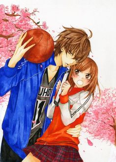 Yuki y Naruse // Namaikizakari Couple Manga, Anime Love Couple, Cute Anime Couples, Manga Art, Manga Anime, Anime Art, Manhwa, Naruse Shou, Drawing