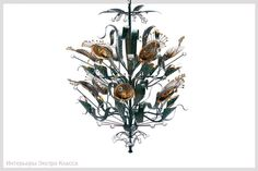 Abalone Chandelier
