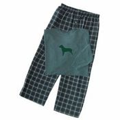 Mens Flannel Pit Bull Pajamas