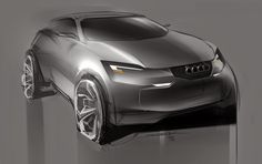 audi concept by Sergey Rabchyk