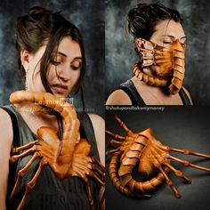 Face Hugger Face Mask - Chestbursters not included! Funny Greetings, Funny Greeting Cards, Black Plague Doctor Mask, Massage Pressure Points, Fire Breathing Dragon, Dog Ramp, The Big Lebowski, Take My Money, Pet Id