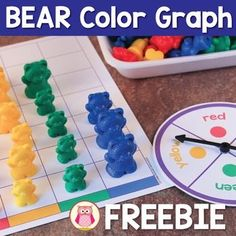 A free color graph activity that can be used to practice color sorting…