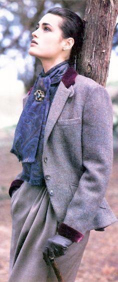 Ralph Lauren lavender heather~-Yasmin LeBon