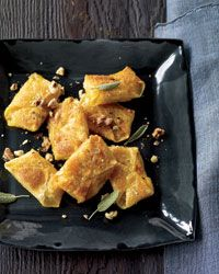 Butternut Squash and Sage Wontons - fun way to serve fall squash.