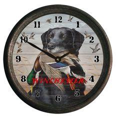 Rockin W Brand Winchester King Buck Wall Clock