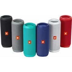 JBL Flip 4 Waterproof Bluetooth Speaker (4 Colors) (Red) #JBLFLIP4